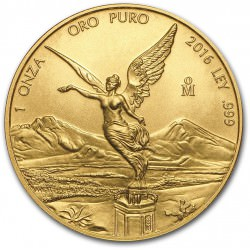 1 oz gold LIBERTAD 2016