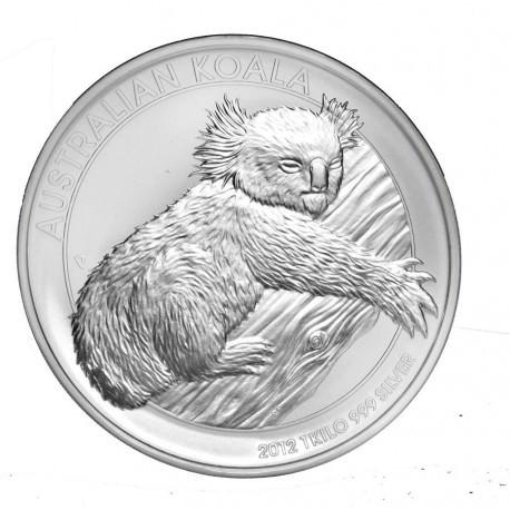 1 KILO silver KOALA 2012