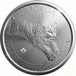 1 oz silver COUGAR 2016 Predators