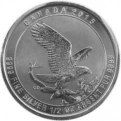1/2 oz silver BALD EAGLE 2015