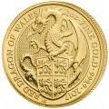 1 oz gold QUEEN'S BEAST 2017 GRIFFIN