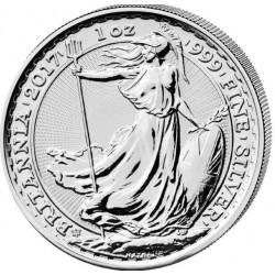 1 oz silver BRITANNIA 2017