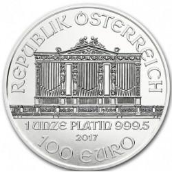 1 oz PLATINIUM PLATINUM PHILHARMONIKER 2021 100€