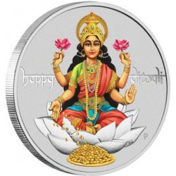 Diwali Festival 2017 1oz Silver $1 in Magic Frame LAKSHMI