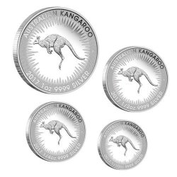 Australian Kangaroo 2017 Silver Proof Four-Coin Set