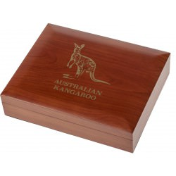 1 oz gold KANGAROO NUGGET CASE