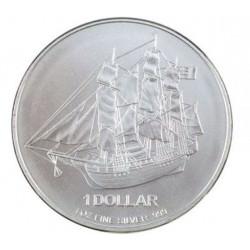 Zilver 1 oz silver COOK ISLANDS 2009