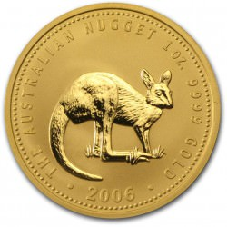 1 oz gold NUGGET 2006 KANGAROO
