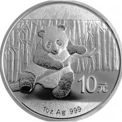 1 OZ SILVER panda 2014