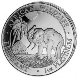 +++ 1 oz Platinum ELephant 2017 PROOF +++