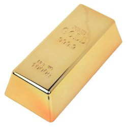 Fake Bullion Bar - Presse-papier - Deurstop