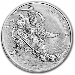 1 oz silver Sin Gallus 2017 South Korea