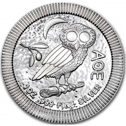 1 oz silver NIUE 2017 ATHENIAN OWL