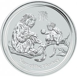 5 oz silver Lunar MONKEY 2016