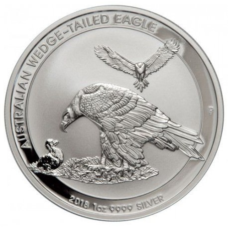 1 oz silver WEDGE-TAILED EAGLE 2017
