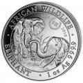 1 oz silver SOMALIA ELEPHANT 2018 Privy Dog