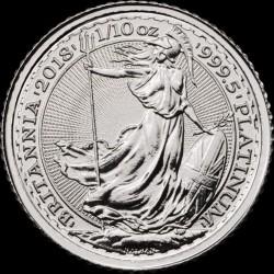1/10 oz platinum BRITANNIA £10