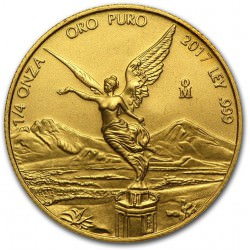 1/4 oz gold LIBERTAD 2017