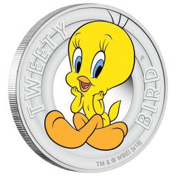 Looney Tunes – TWEETY BIRD 2018 1/2oz Silver Proof Coin