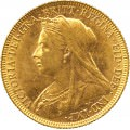 FULL GOLD SOVEREIGN 1894