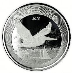 1 oz silver Fiji $1MERMAID RISING 2018