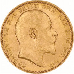 FULL GOLD SOVEREIGN 1909