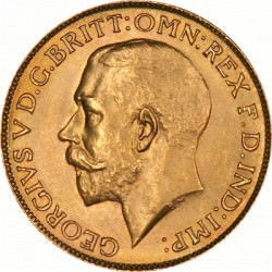 FULL GOLD SOVEREIGN 1913