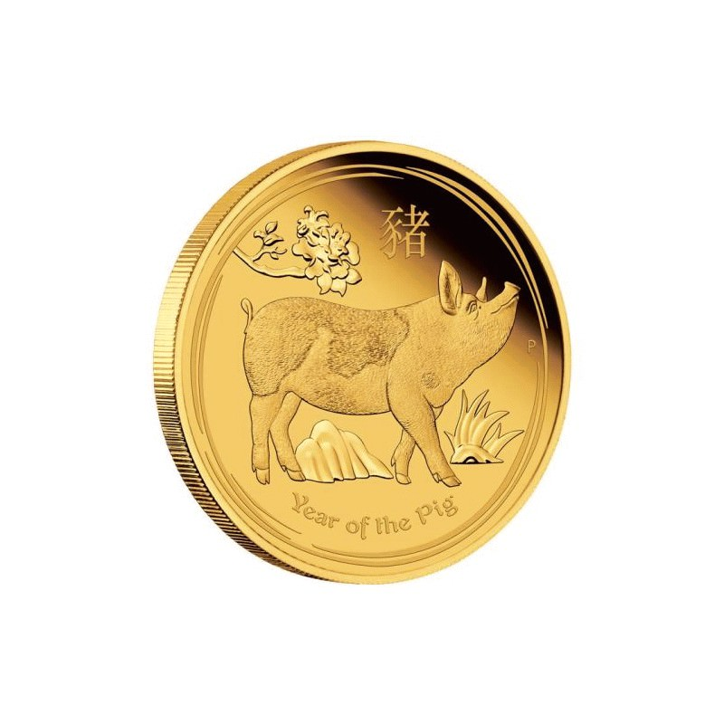 Australian Lunar Series Ii 2019 Year Of The Pig 1 10 Oz