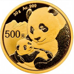 Or CHINA PANDA 30 GR 2019 gold