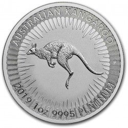 1 oz Platinum KANGAROO 2020