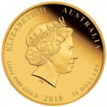 End of WWI 100th Anniversary 2018 1/4oz Gold Proof Coin