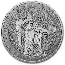 * MEDAL 1 oz silver GERMANIA 2019