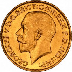 FULL GOLD SOVEREIGN 1927