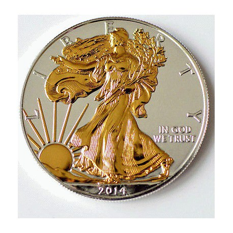 1 oz silver US EAGLE 2014 CAPSULE
