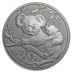 10 oz silver KOALA & BABY 2018 Next Generation BU $10