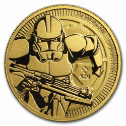 1 oz gold Niue Stars Wars 2019 $250 CLONE TROOPER