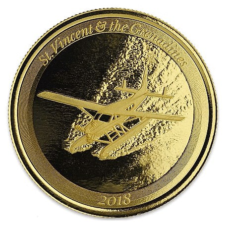 1 oz gold LOBSTER 2018 Eastern Caribbean n°6 / 8