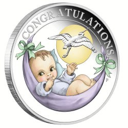 Newborn 2019 1/2oz Silver Proof Coin