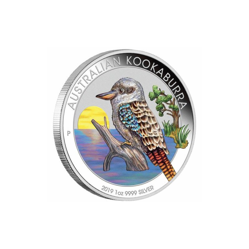 World Money Fair Australian Kookaburra 2019 1oz Silver