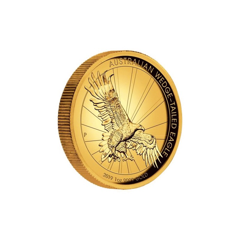 Australian Wedge Tailed Eagle 2019 1oz Gold Proof High