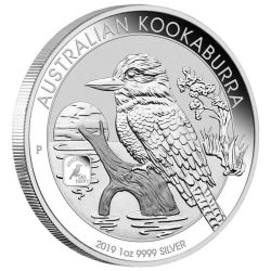 1 oz silver KOOKABURRA 2019 $1 Privy 100th ANNIVERSARY