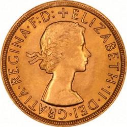 FULL GOLD SOVEREIGN 1958