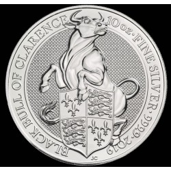 10 oz silver Queen's Beast 2019 UNICORN -