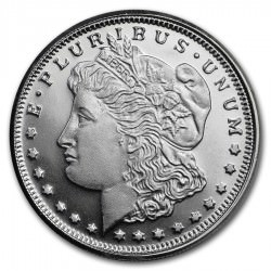 1/4oz silver MORGAN DOLLAR