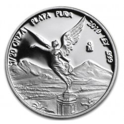 MEXICO 1/20 oz silver LIBERTAD 2019 PROOF