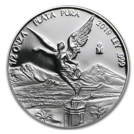 MEXICO 1/2 oz silver LIBERTAD 2019 PROOF