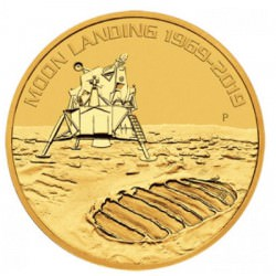 1oz gold 50th Anniversary of the Moon Landing 2019 BU $100