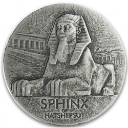 Chad 5 oz silver SPHINX OF HATSHEPSUT 2019