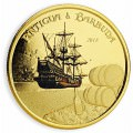 1 oz gold PELICAN 2018 Eastern Caribbean n°2 / 8 Colored Proof Box + Coa