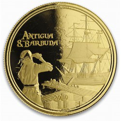 1 oz GOLD Rum Runner 2018 Eastern Caribbean N°1 / 8